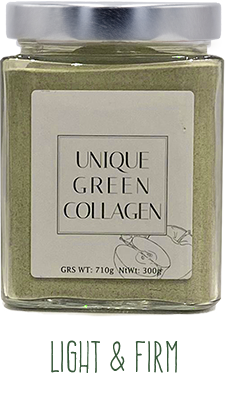 unique green collagen luminosidad y firmeza